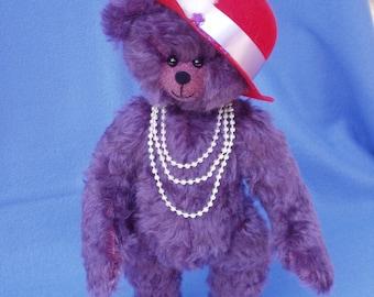 "OOAK Mohair Bear  - ""Hazel"""
