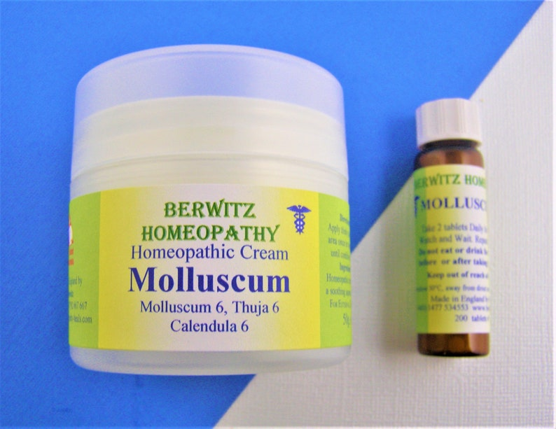 MOLLUSCUM/THUJA WARTS Homeopathy Cream/Remedy kit for children and adults