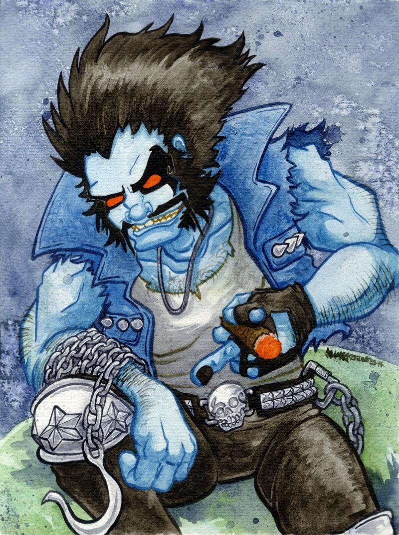 supervillain superhero dc antihero DC Lobo