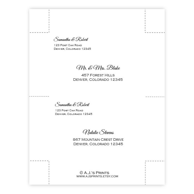 Save the Date Template \u2022 Purple /& Blue Hydrangeas \u2022 DIY Printable Template 4x6 Postcard \u2022 Instant Download \u2022 Microsoft Word \u2022 Edit and Print
