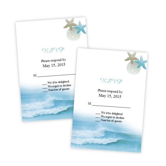 Rsvp card template ocean waves diy printable instant etsy image 0 maxwellsz