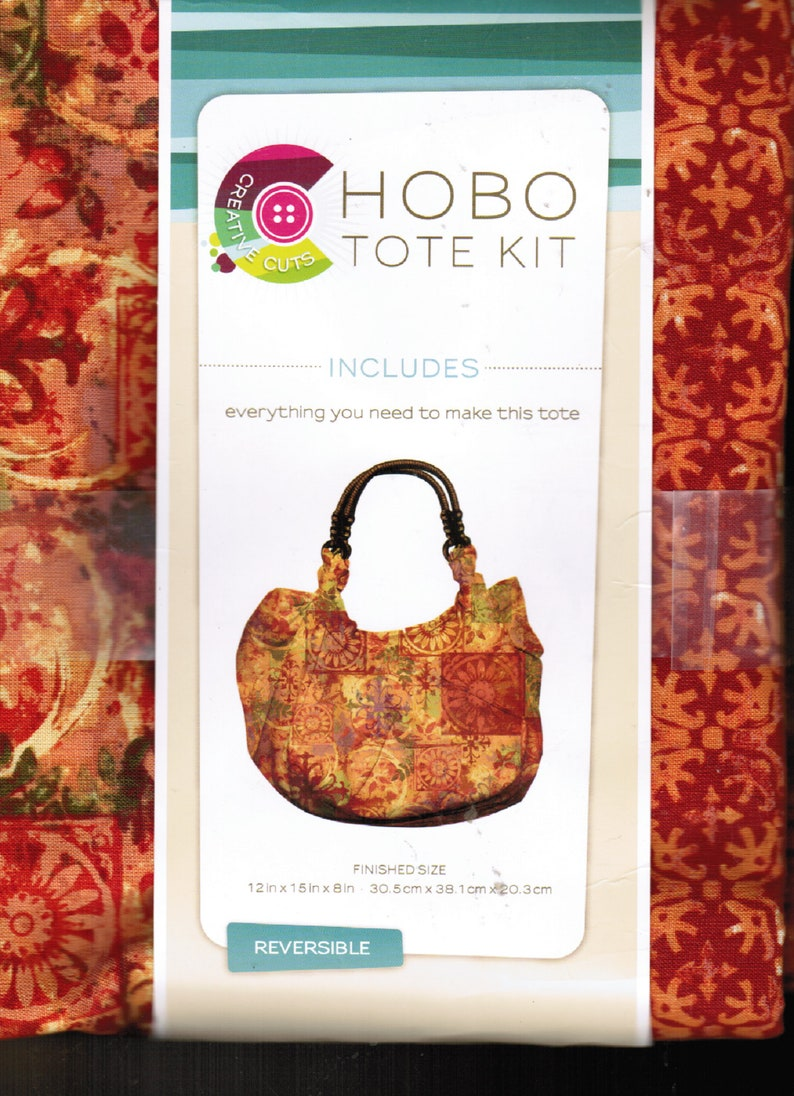 Hobo Tote Purse Kit DIY Gift DIY Gift For Her DIY Craft Activity Craft Party Kits