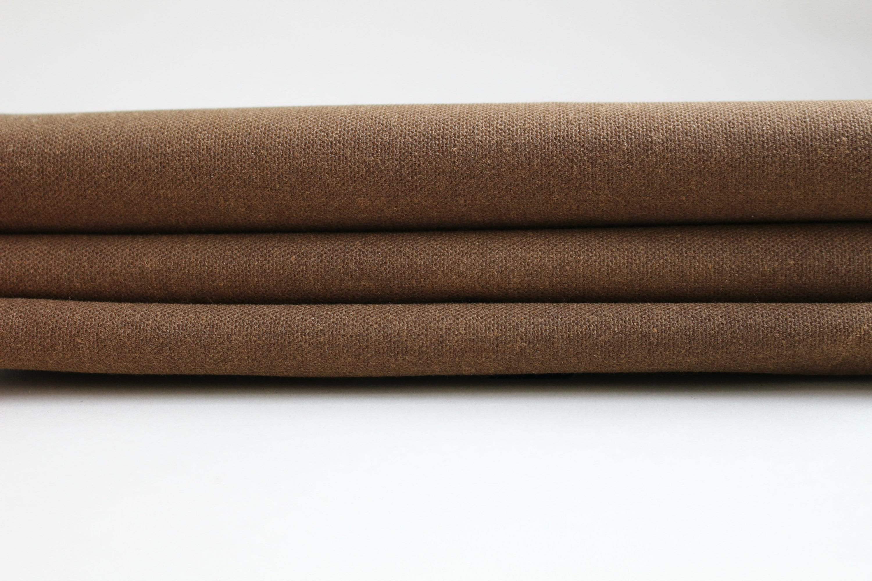 Hand Waxed Cotton Canvas Fabric Spice 10oz By The Yard Etsy