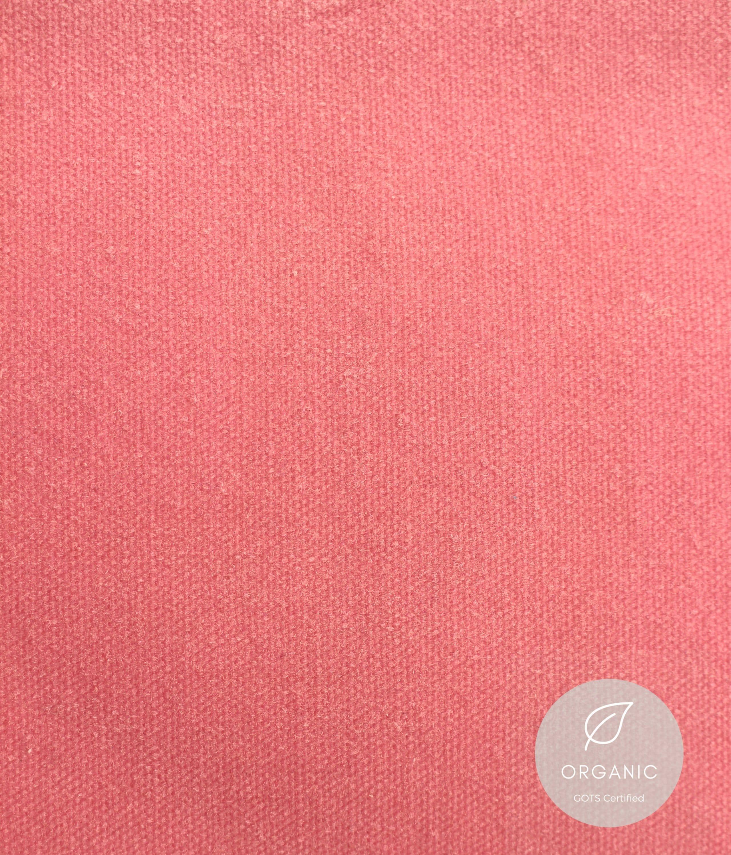 Tissu toile de coton bio bio coton - no 42 pétale ciré 62f5ec
