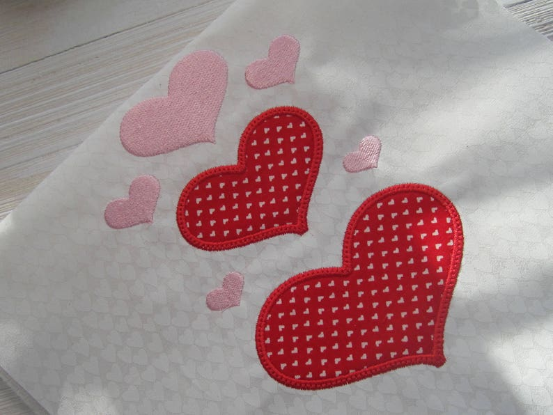 Heart embroidery design design combo pack applique etsy