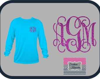 LONG Sleeve Monogrammed T-Shirts