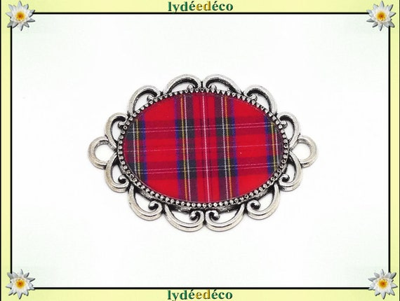 1 magnet magnet Outlander tartan red Scottish Plaid resin mother's day gift personalized birthday thank you teacher