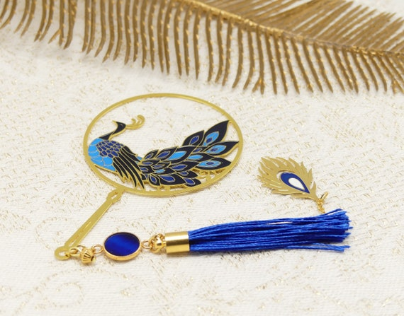 Brand pages PAON books resin pompom feather bird blue white golden mothers gift Christmas birthday