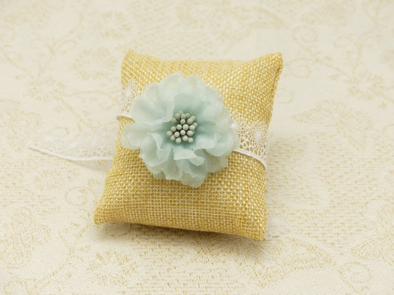 FLOWER bracelet adjustable green water wedding grey Flower chiffon pistils bride guest bridesmaid ceremony