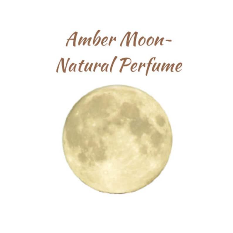 Amber Moon  Natural Perfume  Aromatherapy RollOn  Patchouli image 0