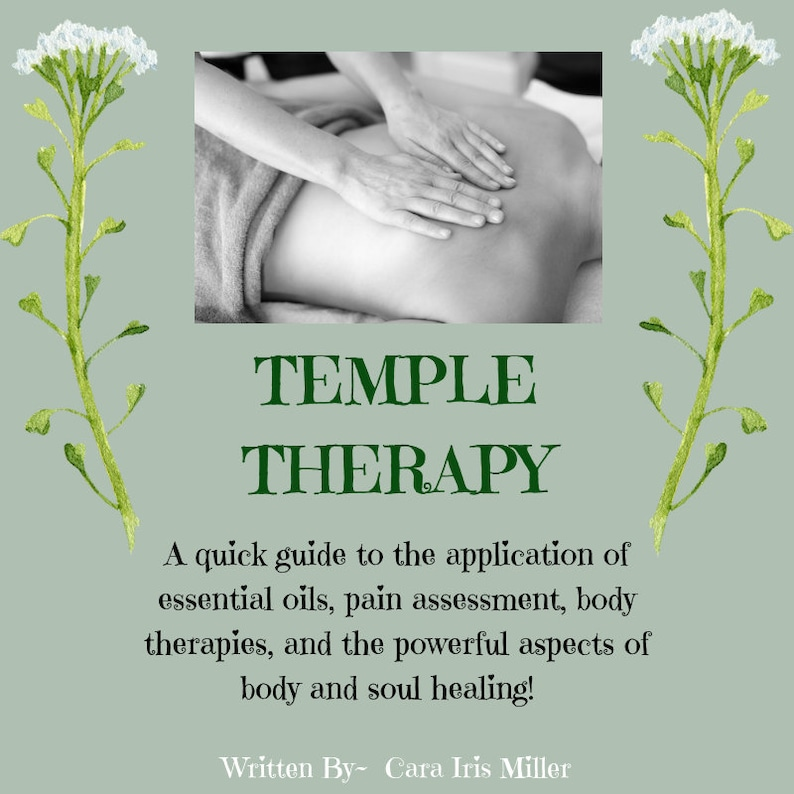Temple Therapy EBook  Instant Download  Digital  Wellness image 0