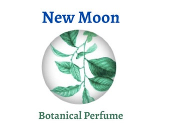 New Moon - Natural Perfume - Aromatherapy - Roll On - Lavender - Mint - Botanical Skincare - Vegan - Beauty - Essential Oil - Perfume - 10ml