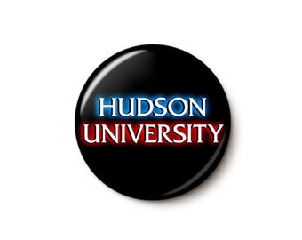 Hudson University Button or Magnet
