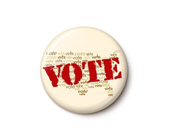 Every Vote Matters Button or Magnet