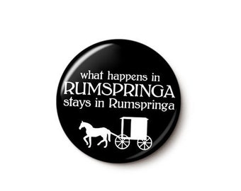Amish Rumspringa Button or Magnet