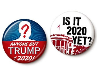 2020 Can't Come Soon Enough Button/Magnet Set