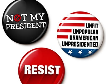 UnTrump Button/Magnet Set