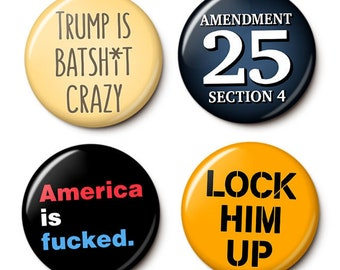 Constitutional Crisis Button/Magnet Set