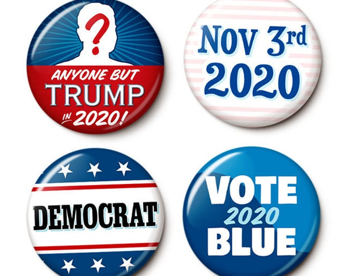 Featured listing image: 2020 Election Button/Magnet Set