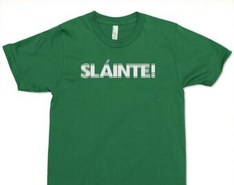 Doublevision Irish Slainte T-shirt