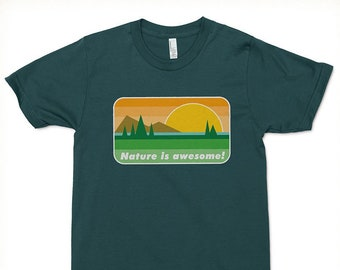 Nature Is Awesome T-shirt