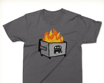GOP Dumpster Fire T-shirt