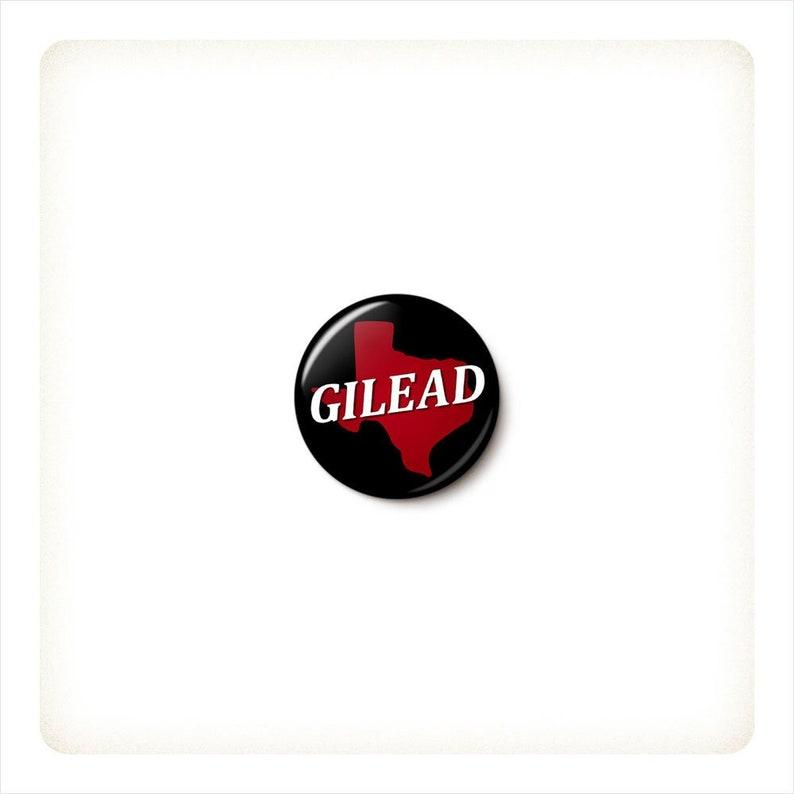 Gilead Texas Button or Magnet  Pro-Choice Pin  Texas image 0