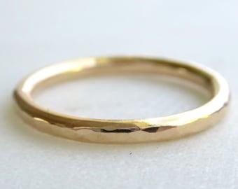 Plain Gold Band Etsy