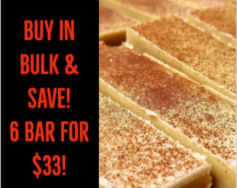 Handmade Cold Process soap ON SALE! 6 for 33 dollars~bulk soap, homemade Vegan soap, perfect for soap gift, pagan, witch, ritual