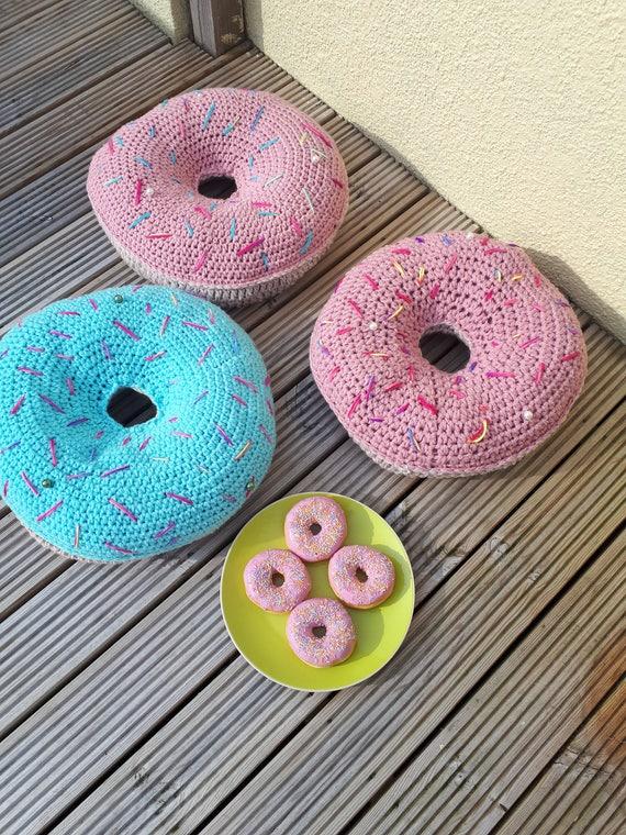 Große Donut Kissen Fat Frei Handgefertigte Kissen Ostern Etsy