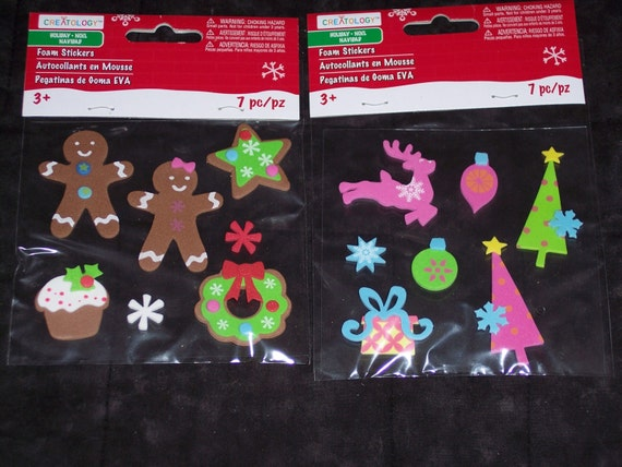 CHRISTMAS FORM SHAPE ASSORTMENT By Creatology  32 pieces