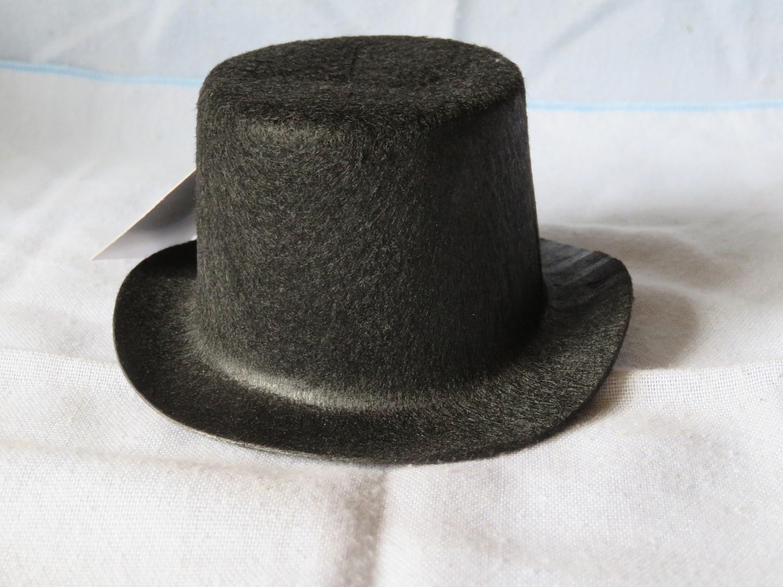 299c40dc660 Felt top hat5 inch oval.snowman hatstiffened