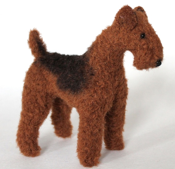 Airedale Terrier PDF dog sewing pattern | Etsy