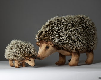 Hedgehog -Sewing Pattern and Tutorial (PDF Digital File Download)