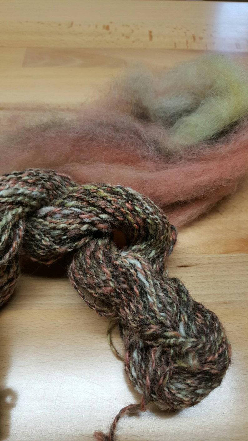 BFL wool Leicester Longwool  Born on the Bayou  FiberCurio