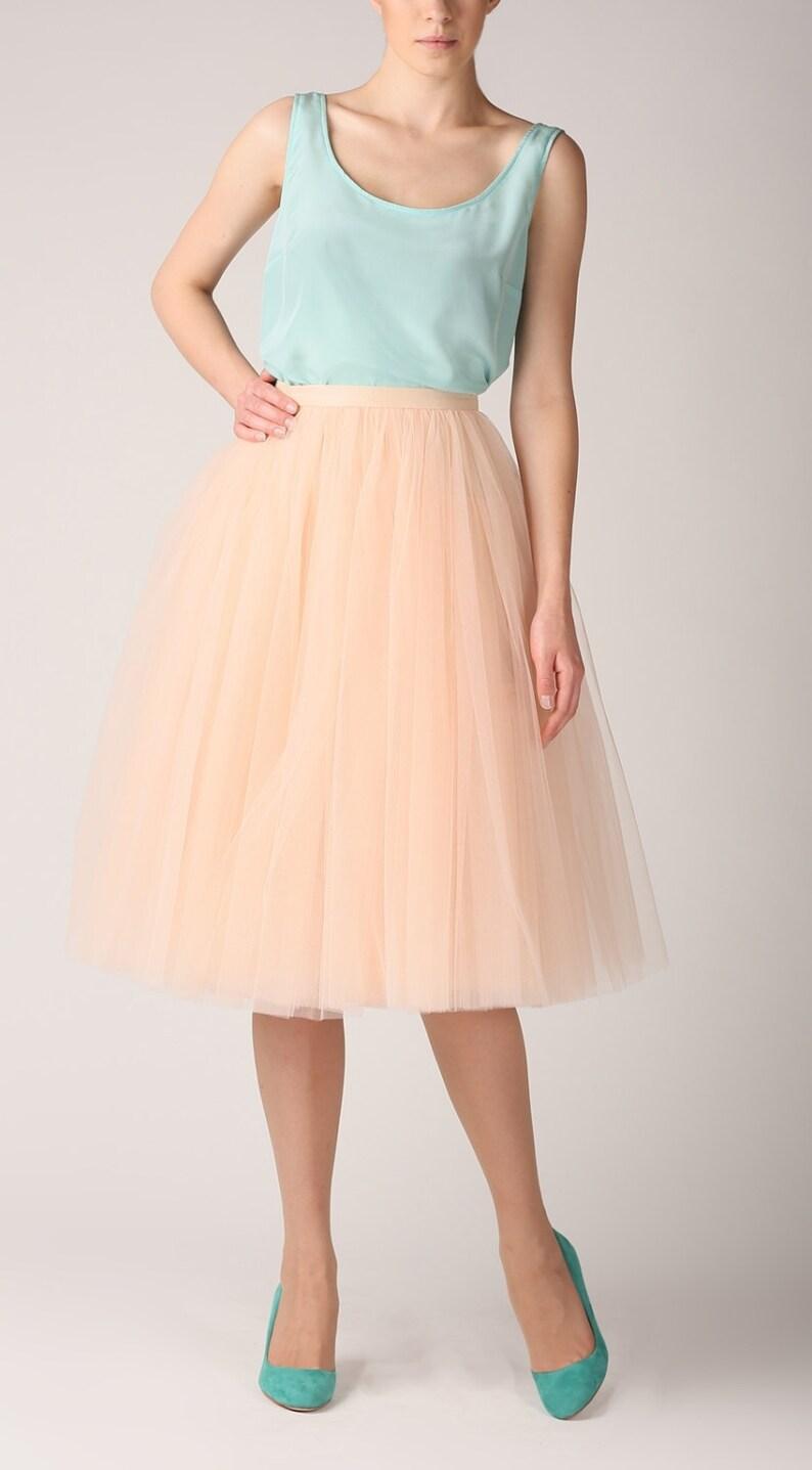 buy popular 015bb c02b4 Tüllrock, lange Petticoat, qualitativ hochwertige Tutu Röcke, Tüll Tutu,  Tealength tutu