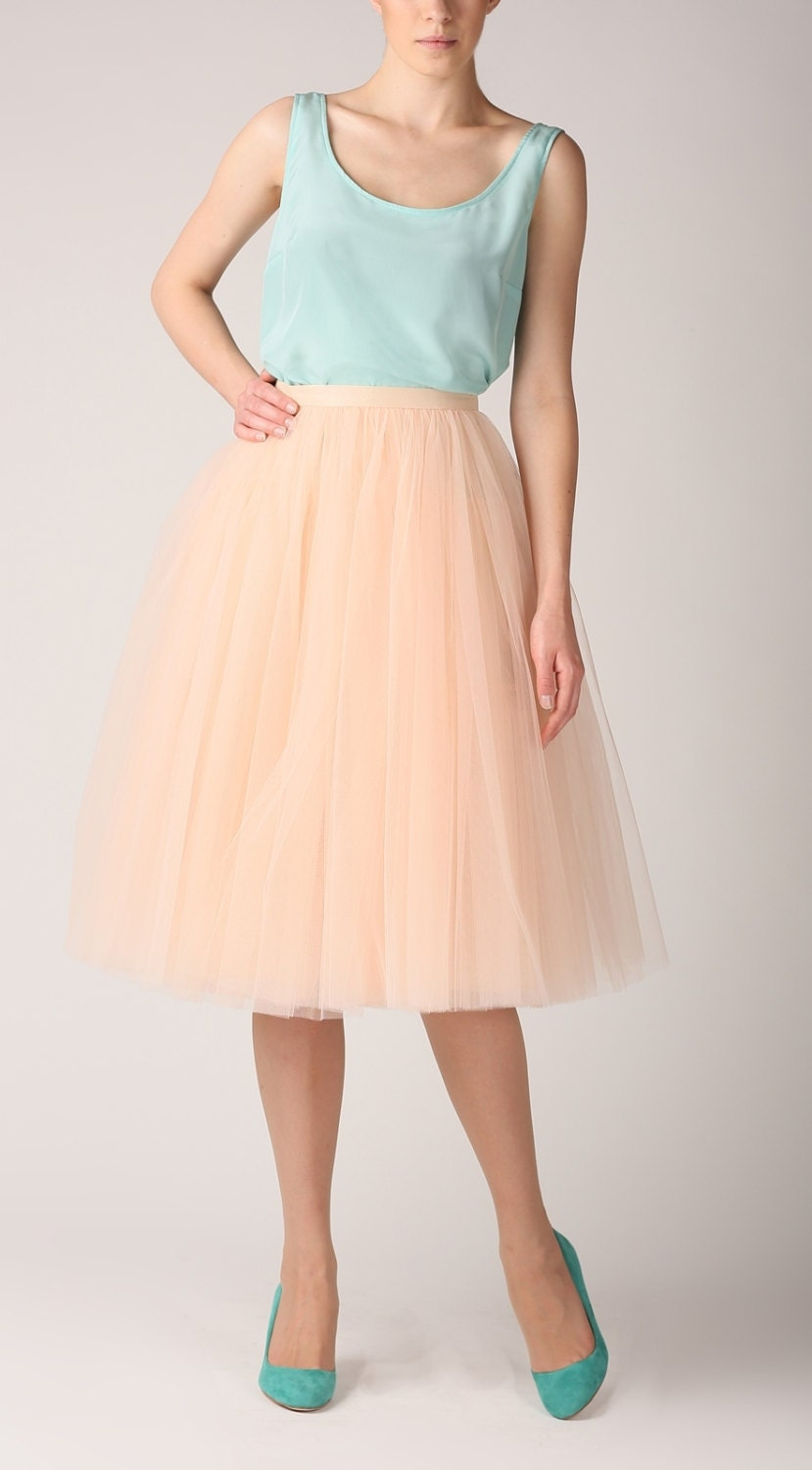Tulle Skirt Long Petticoat High Quality Tutu Skirts Tulle