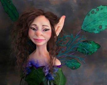 Fantasy Bust.  Classic Fairies. Ethel. Figure.