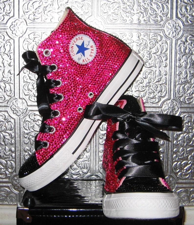 129dfb5326f54 converse/ bling converse/ rhinestone converse/ converse high tops/ custom  converse/ bedazzled sneakers/ converse all stars/ chuck taylor