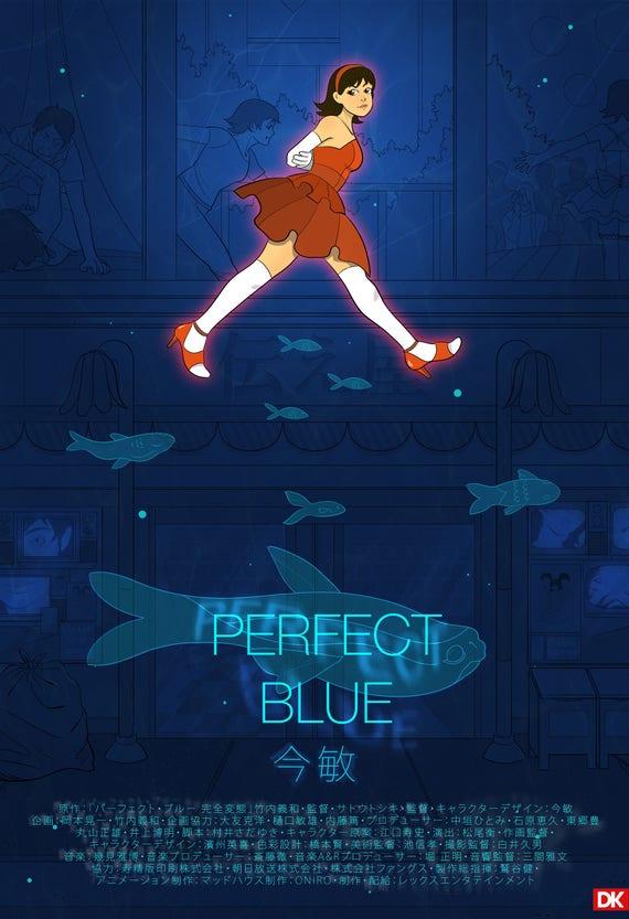 Perfect Blue Print Etsy