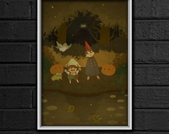 Over the Garden Wall Print