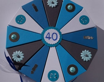 Geldgeschenk 40 Geburtstag Etsy