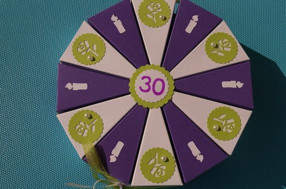 Geldgeschenk Geschenk Zum 30 Geburtstag Geldgeschenkverpackung Geschenkschachtel Zum Geburtstag Geschenke Für Das Geburtstagskind