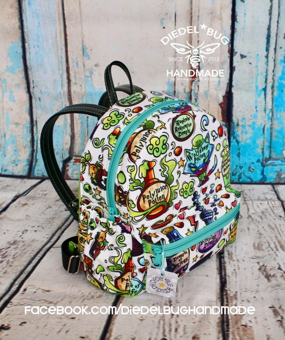 Scrapbooking Paper Scrapbook Decorative Unique Custom Outdoor Shoulders Bag Fabric Backpack Multipurpose Daypacks For Adult
