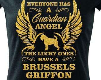 Guardian Angel - Griffon bruxellois T-shirt