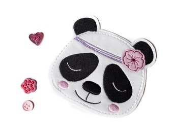 Embroidered Patch - Panda - Boho