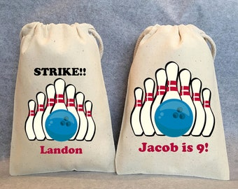 Loot Ten Pin Bowling Party Bags Girls Boys Kids Birthday Goody Bags