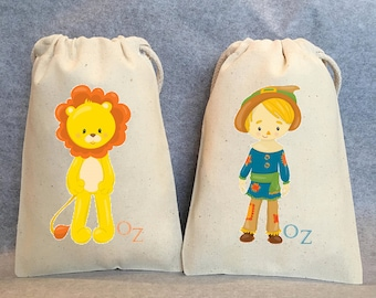 """18 Wizard Of Oz, Wizard of Oz party, Dorothy, Oz, Wizard of Oz Party Favor Bags, 4""""x6"""""""