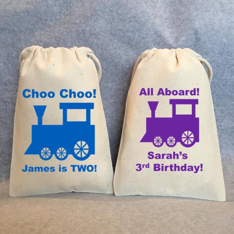 4x6 Choo Choo train Train birthday supplies 15- Train Birthday Train Party Train favors choo choo train,Train Party Favor Gift Bags
