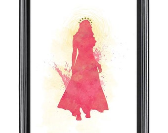 Aphrodite Water Color Print